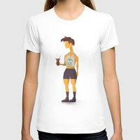 oakland T-shirts featuring Hipster Argentino in Oakland by Patricio Sebastian Pomies