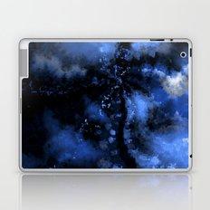 Dark Blue Vortex II Laptop & iPad Skin
