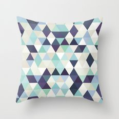 I am not a morning person Throw Pillow