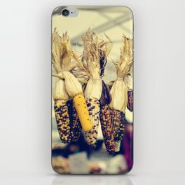 Indian Corn at the Farmers Market iPhone Skin