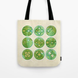 Video Game Controllers Tote Bag