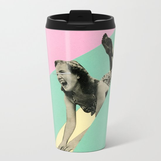 Slide Metal Travel Mug