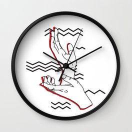 Meanwhile Wall Clock