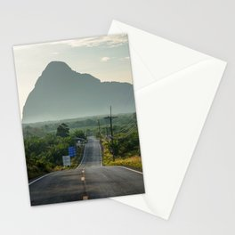 Road to Ao Phang-nga National Park, Phuket Thailand Stationery Cards