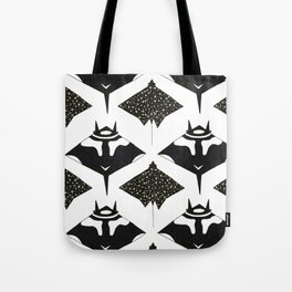 mantas and spotted eagle rays Tote Bag
