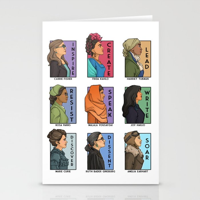 She Series Collage - Real Women Version 1 Stationery Cards