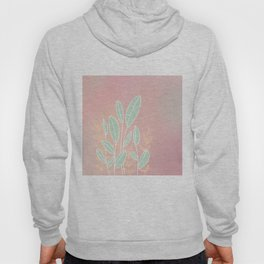 Abstract Leaves - Colorful, Leaf Drawing Hoody