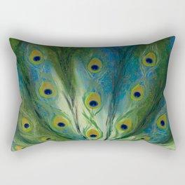 MONSIEUR PEACOCK Rectangular Pillow