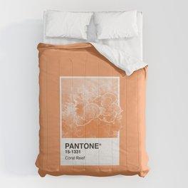Pantone Series – Coral Reef Comforters