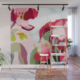 abstract bloom Wall Mural