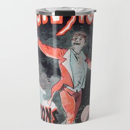 Musee grevin magie noire, 1887, Jules Cheret, -Vintage poster Travel Mug