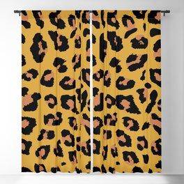 Leopard Blackout Curtain