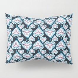 Crystal Heart Pillow Sham