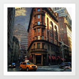 Delmonico's, New York City Art Print