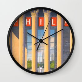 Philadelphia Welcomes Pope Francis Wall Clock