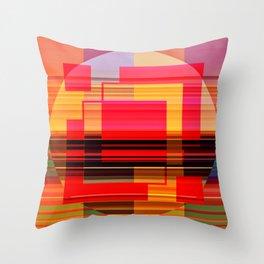 Geometric Study Throw Pillow
