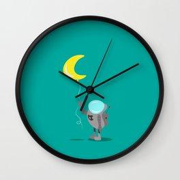 Space Dreamer Wall Clock