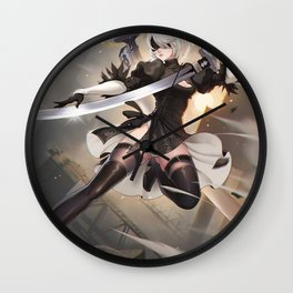 Nier Automata Wall Clock