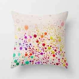 Colorful  Throw Pillow