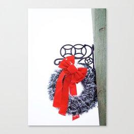 Christmas Wreath2 Canvas Print