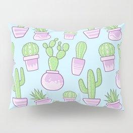Cactus (Blue) Pillow Sham