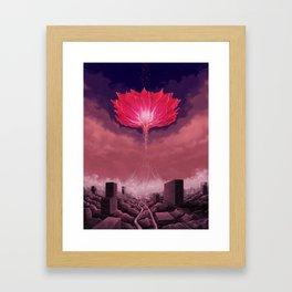 Flower of Singularity Framed Art Print