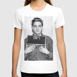 ELVIS PRESLEY ARMY MUGSHOT T-shirt
