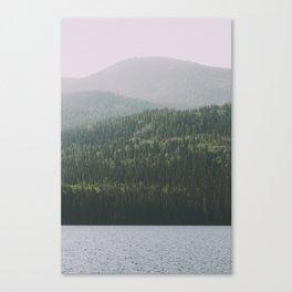 Grande Cache Lake, AB Canvas Print