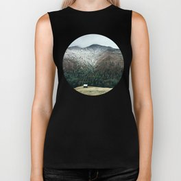 Cabin in the woods Biker Tank