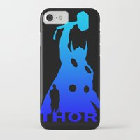 thor iPhone & iPod Cases featuring Thor by Sport_Designs