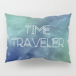Space and Time Traveler Pillow Sham