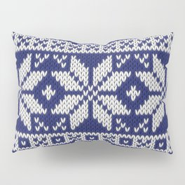 Winter knitted pattern 2 Pillow Sham