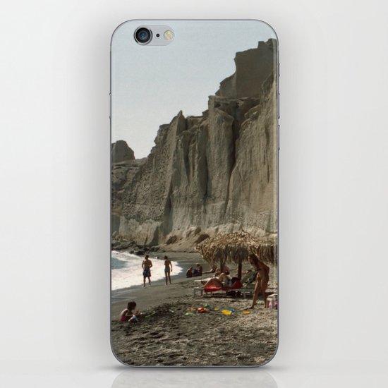 Eros Beach, Santorini iPhone & iPod Skin