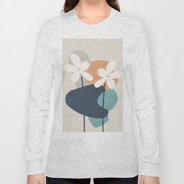 Abstract Flowers 3 Long Sleeve T-shirt