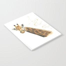 Giraffe watercolour Notebook