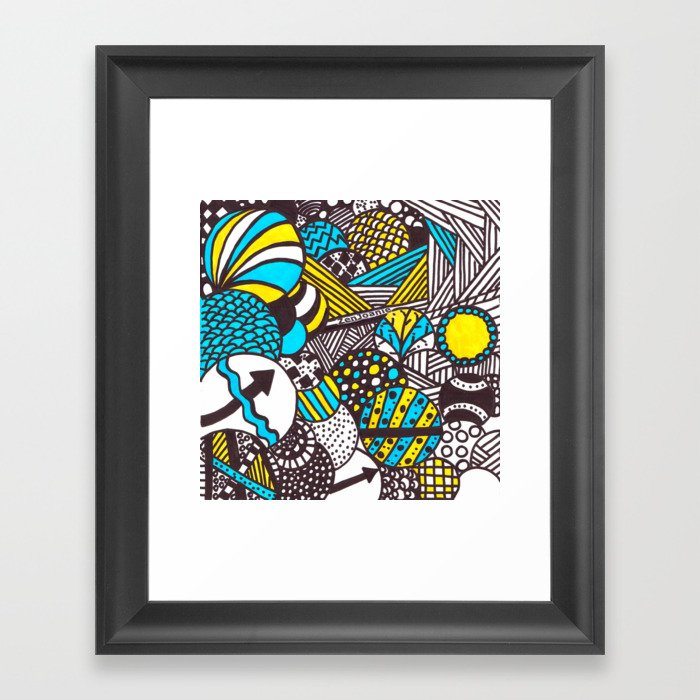 """Illumination"" Framed Art Print"