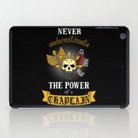 warhammer iPad Cases featuring Chaplain, Warhammer 40K by ZsaMo Design