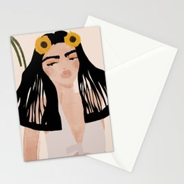 Janie in the Jungle Stationery Cards