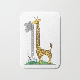 Long Long Giraffe Bong Bath Mat