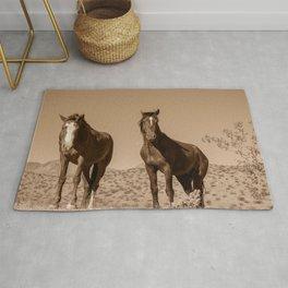 Wild_Horses Sepia 3501 - Nevada Rug