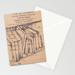 Lines to shelves Stationery Cards