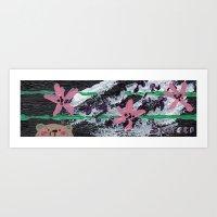 hawaiian Art Prints featuring Hawaiian by Shereen Yap