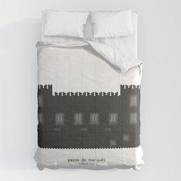 HexArchi - Portugal, Ponte de Lima, Paços do Marquês Comforters