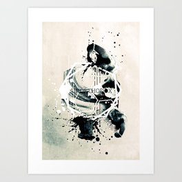 A day different than usual. Art Print
