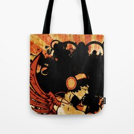 Rebel Lady Tote Bag