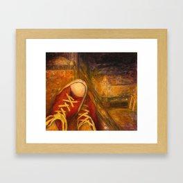 6 PM Framed Art Print