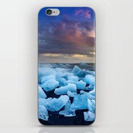 The Blue Crush Iceland iPhone Skin