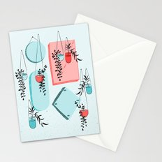 Mirror & Plants Stationery Cards