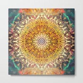 Cygnus Cosmic Mandala Metal Print