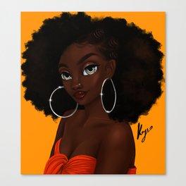 bantu Canvas Print